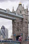 Tower Bridge in London. UK — Stock Photo