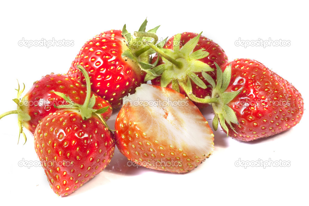 Strawberry. Testy  and sweet  berryes — Stok fotoğraf #6925989