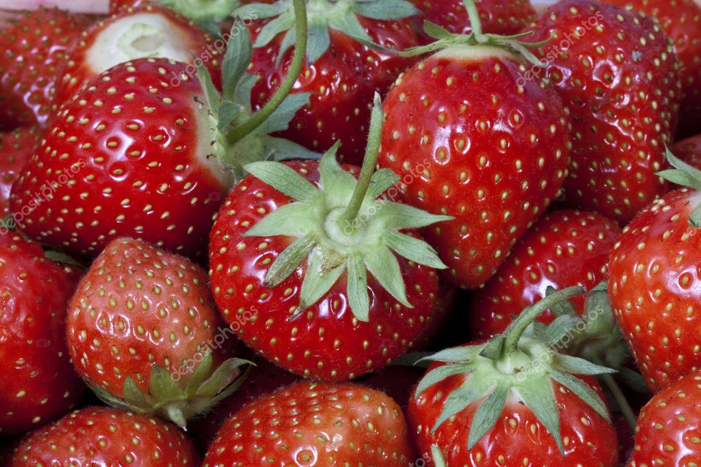 Strawberry. Testy  and sweet  berryes — Foto Stock #6925996