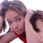 Student girl — Stock Photo #6750388