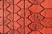 Painted pavement red background — Stock Photo
