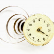 Stock Photo: Vintage clock dial