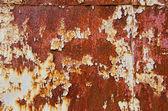 Sfondo di cracking e arrugginito — Foto Stock