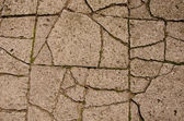 Cracked old pavement background — Stock Photo