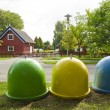 Three containers in the summer resort — Stock Photo #7298529
