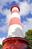 Historical lighthouse and sky — Photo