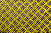 Painted metal yellow background — Stock Photo