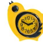 Vintage birds forms clock — Stock Photo #7520902