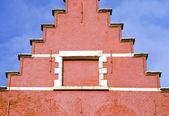исторический дом фрагмент в бельгии — Стоковое фото