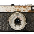 Stock Photo: Old isolated analogical camera