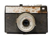 Old isolated analogical camera — Stock Photo