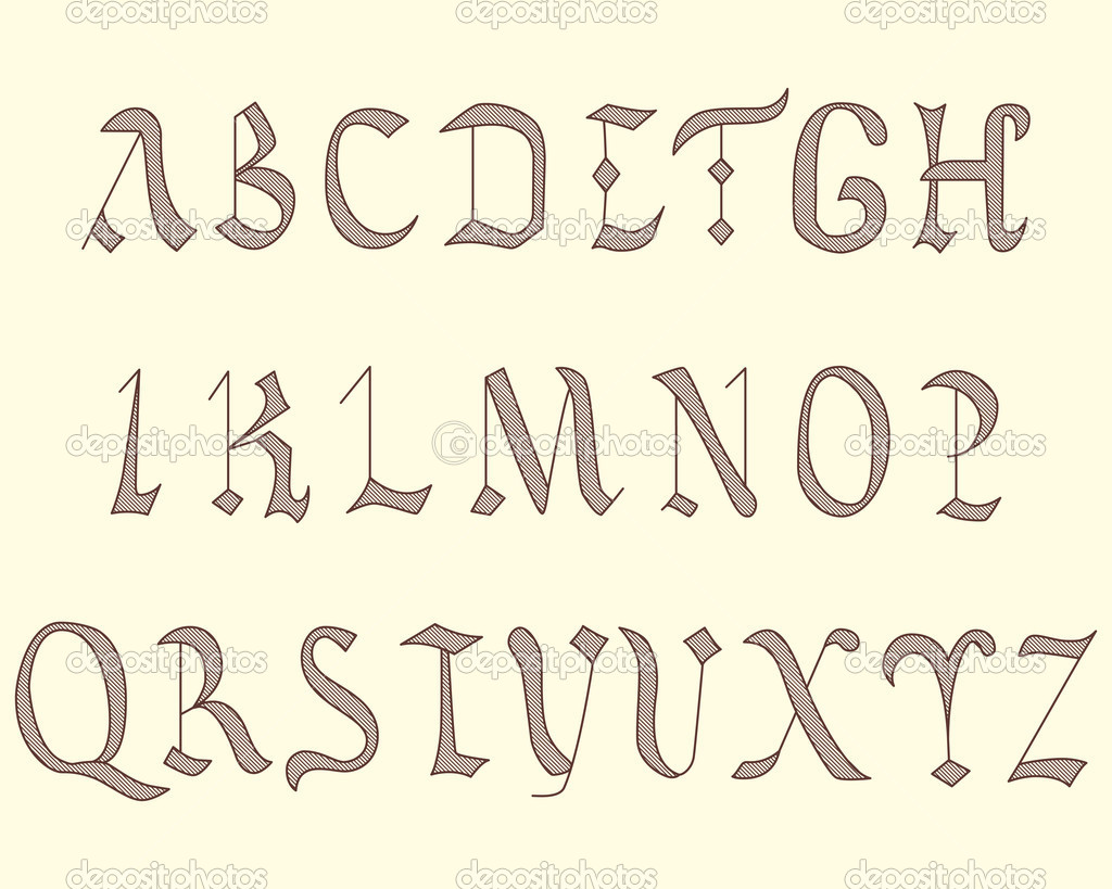 Different Kinds of Lettering