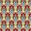 Art deco seamless pattern — Vector de stock