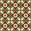 Classic vintage seamless pattern — Stock Vector