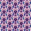 Art deco seamless pattern — Cтоковый вектор