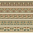 Set of five decorative borders — Stock vektor