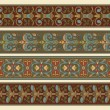 Set of four decorative borders — Stockvectorbeeld