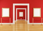 Red museum — Stock Photo