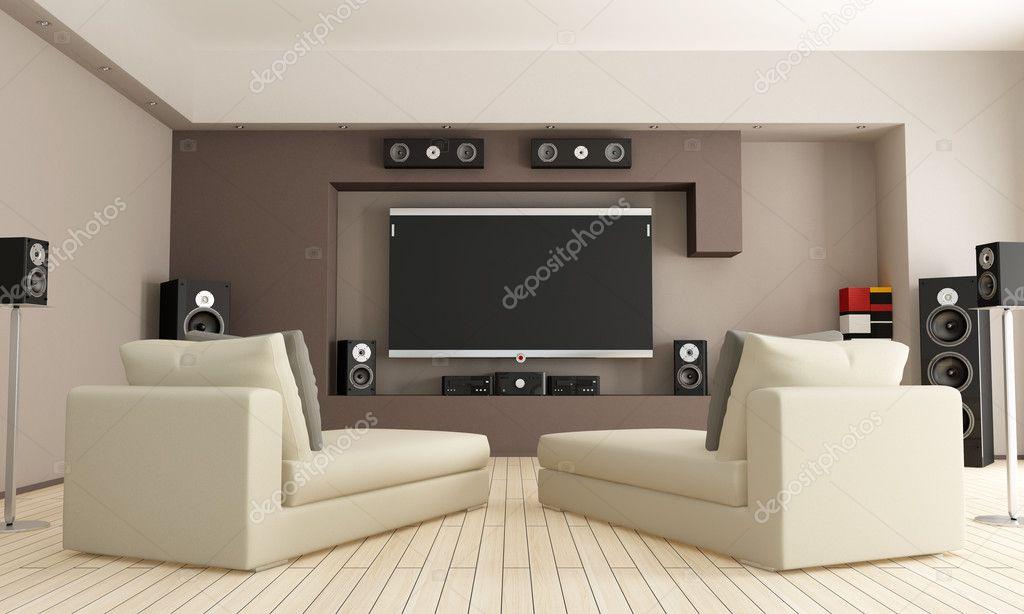 heimkino wohnzimmer einrichtung – vegdis, Hause ideen