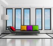 Moderní obývací pokoj — Stock fotografie