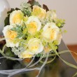 Bridal Bouquet of yellow roses — Stock Photo #6945954