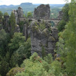 Royalty-Free Stock Photo: The bastei bridge