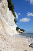 Chalk cliffs on rügen — Foto Stock