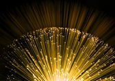 Fiber optic background — Stock Photo