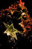 Festive lights background. — Stock Photo