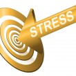 Target the stress. — Stock Photo