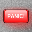 Panic button. — Foto de Stock