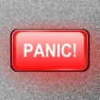 Panic button. — Stock Photo