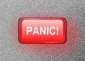 Panic button. — Stock Photo