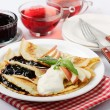 Crepes — Stock Photo