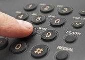 Telephone keypad — Stock Photo