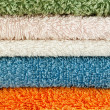 Royalty-Free Stock Photo: Towels of different colors