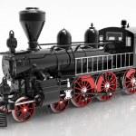 The locomotive — Stock Photo