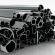 Stockfoto: Metal pipes