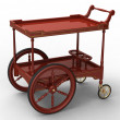 The cart — Stockfoto
