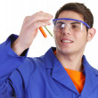 Stock Photo: Lab worker