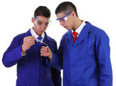 Two scientists — Stock Photo