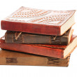 Group of antique books — Stock Photo