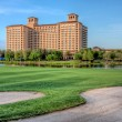 Stock Photo: Hotel on Golf Course