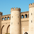 Aljaferia Palace in Zaragoza, Spain - Stock Photo