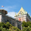 Stock Photo: Chateau Frontenac from Old Quebec City