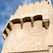 Torres de Serrano in Valencia - Stock Photo