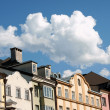 Colorful houses in Innsbruck — Foto Stock