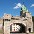 Stock Photo: Porte Saint Louis City Gate, Quebec City