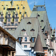 Roofs of Quebec City - Stock Photo