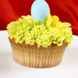 Fancy Easter cupcake - Stock Photo
